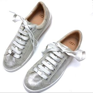 UGG | Silver Milo Sneakers